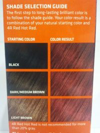 [CLAIROL] TEXTURES & TONES PERMANENT HAIR COLOR DYE KIT 1