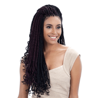 "CUBAN TWIST 24"" - FREETRESS EQUAL SYNTHETIC LONG MARLEY ..."