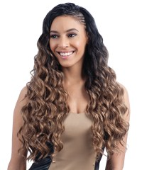 "LONG FINGER ROLL BRAID 22"" - FREETRESS BULK CROCHET ..."