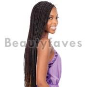 medium box braids - freetress bulk