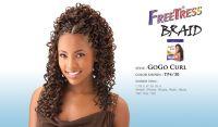 GOGO CURL BY FREETRESS BULK KANEKALON CURLY BRAIDING HAIR ...