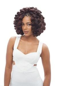 2X Bounce Twist Janet Collection Noir 100 Kanekalon ...