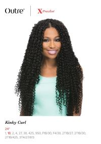 "KINKY CURL 24"" BRAID - OUTRE X-PRESSION SYNTHETIC CROCHET ..."