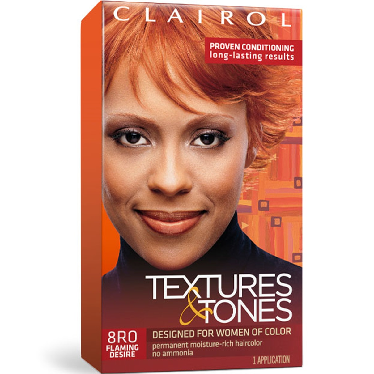 [CLAIROL] TEXTURES & TONES PERMANENT HAIR COLOR DYE KIT 1