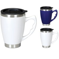 Primo Travel Mug - Ceramic outer Thermal Stainless Steel ...