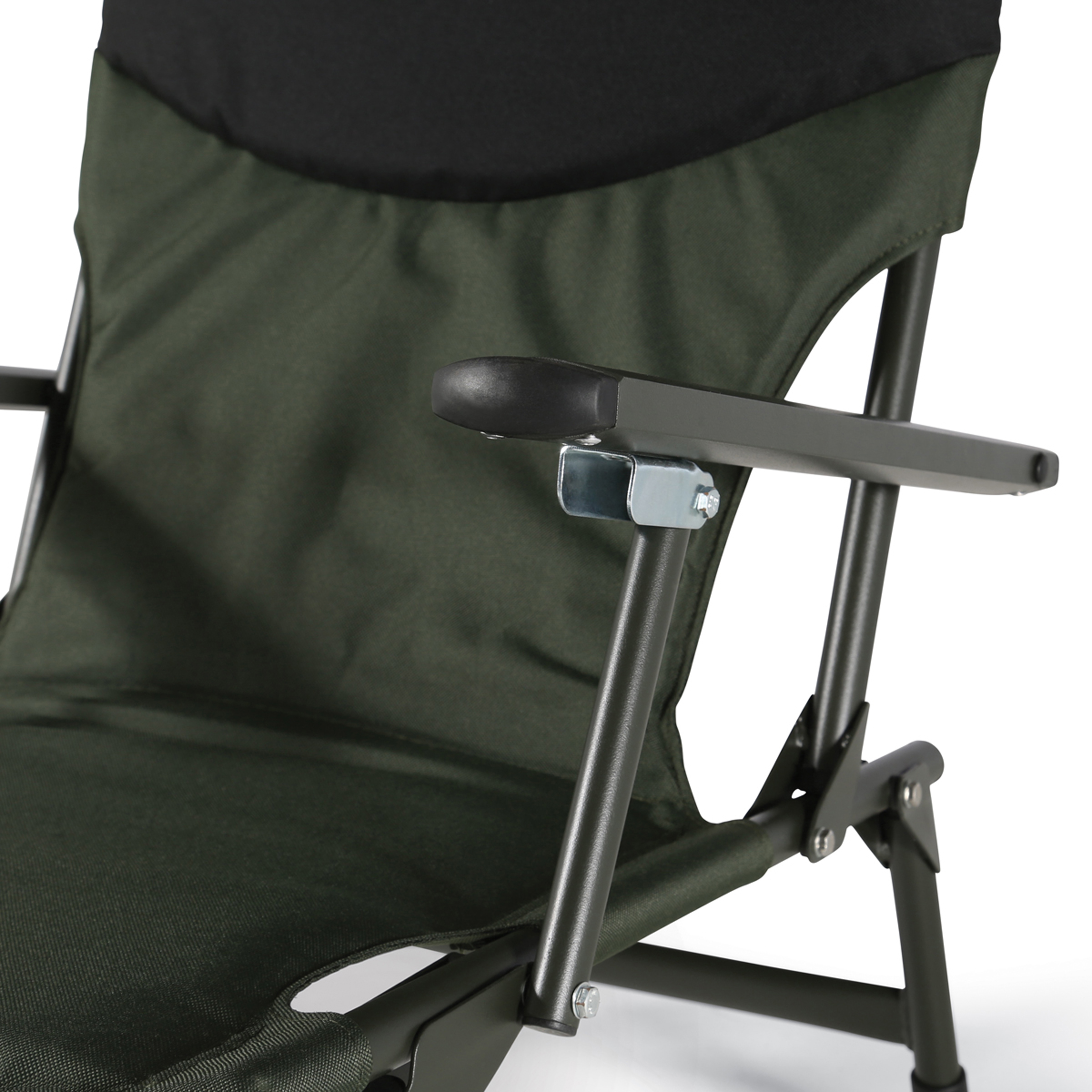 fishing chair with arms outdoor steel design cyprinus folding seat arm rests carp
