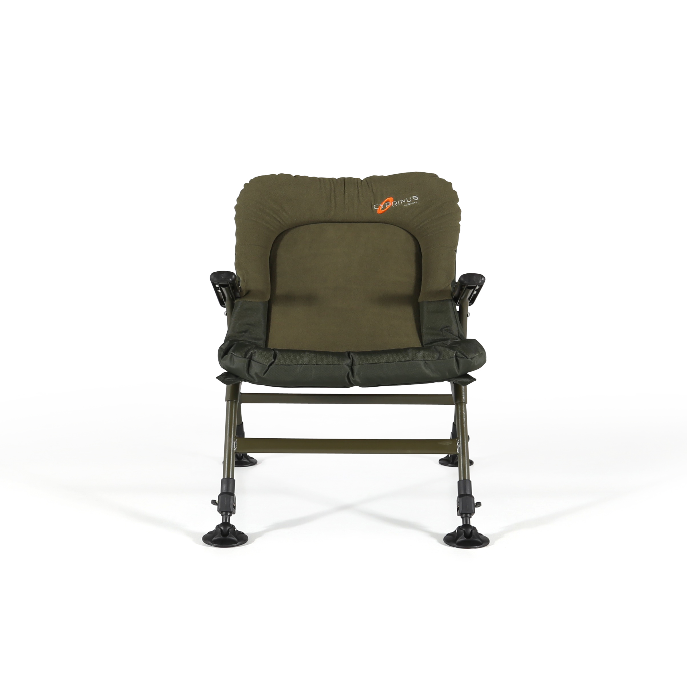 fishing chair with arms suv captain chairs cyprinus memory foam lightweight padded carp coarse