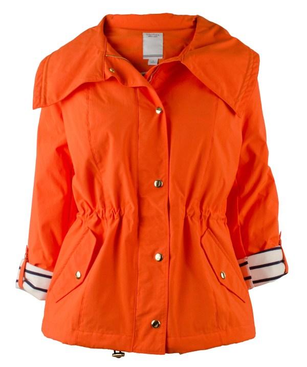 Nautica Women' Nylon Anorak Jacket