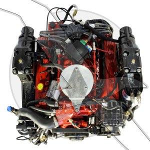 57L 350ci Volvo Penta 57GXI Multi Port Fuel Injected Engine Motor SX DP   eBay