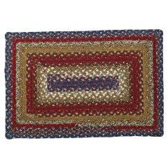 Braided Kitchen Rugs Menards Backsplash Tile Americana Cotton Area Oval Rectangle 20x30