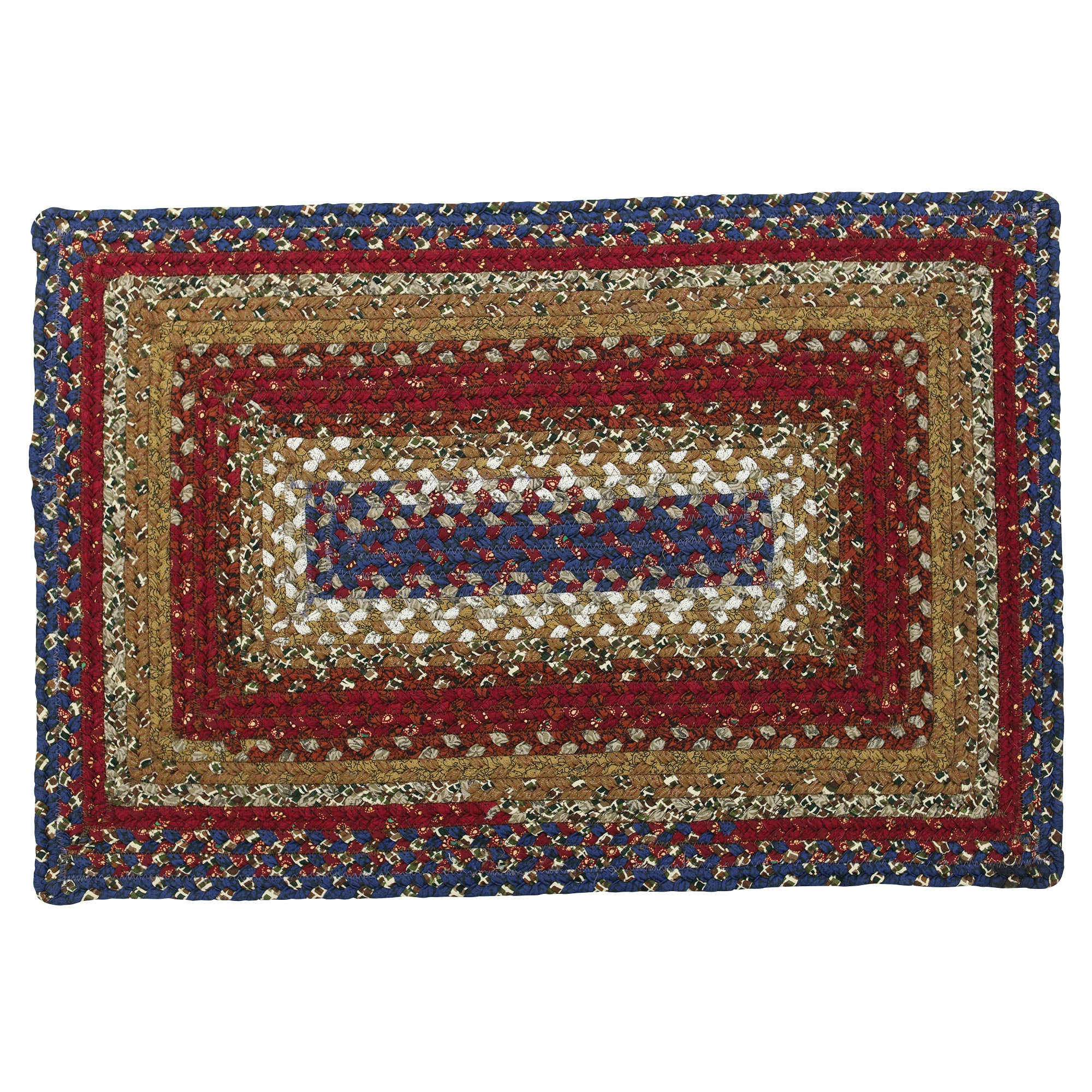 braided kitchen rugs cabinets honolulu americana cotton area oval rectangle 20x30
