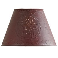 Punched Tin Lamp Shades by Park Designs Rustic Country