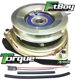 replaces murray 1736105sm pto clutch oem upgrade w wire harness repair kit [ 1025 x 1091 Pixel ]