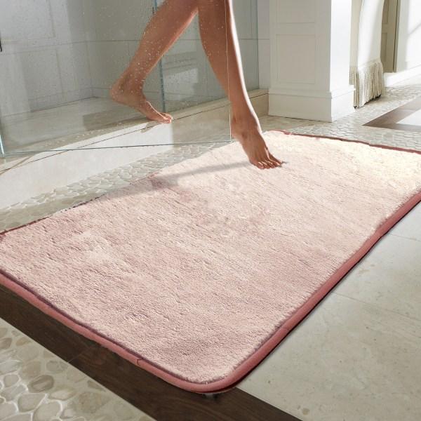 Microfiber Absorbing Bath Mat Bathroom Rug