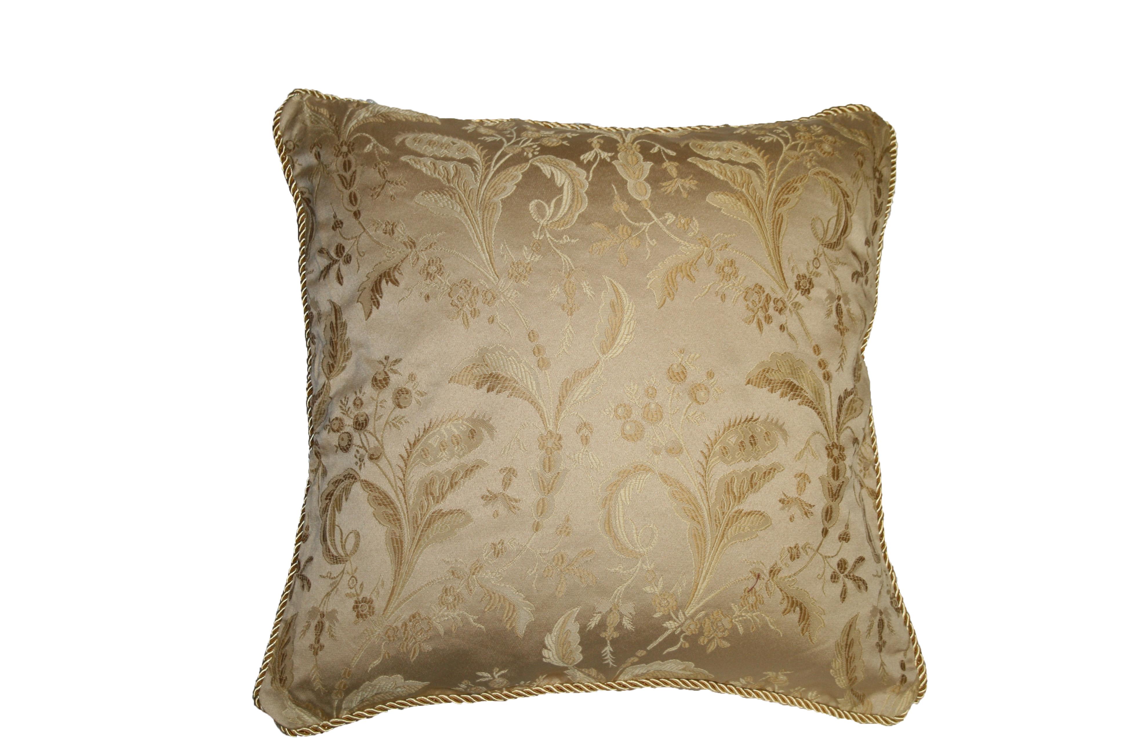 luxury sofa throw pillows upholstery fabric for sofas damask design decorative pillow ebay