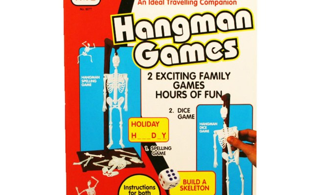 A To Z Hangman 2 In 1 Traditional Childrens Kids Family