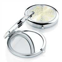Pocket Purse Handbag Travel Compact Folding Makeup Mirror ...
