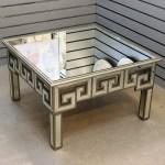 Geometric Mirrored Coffee Table Hallway Side Table Modern Living Room Furniture Ebay