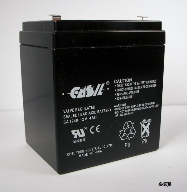 Casil Ca-1240 12v 4ah Replacement Battery Adt 804302