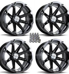 details about msa m12 diesel 14 atv wheels for sportsman xp scrambler 4  [ 1600 x 1600 Pixel ]