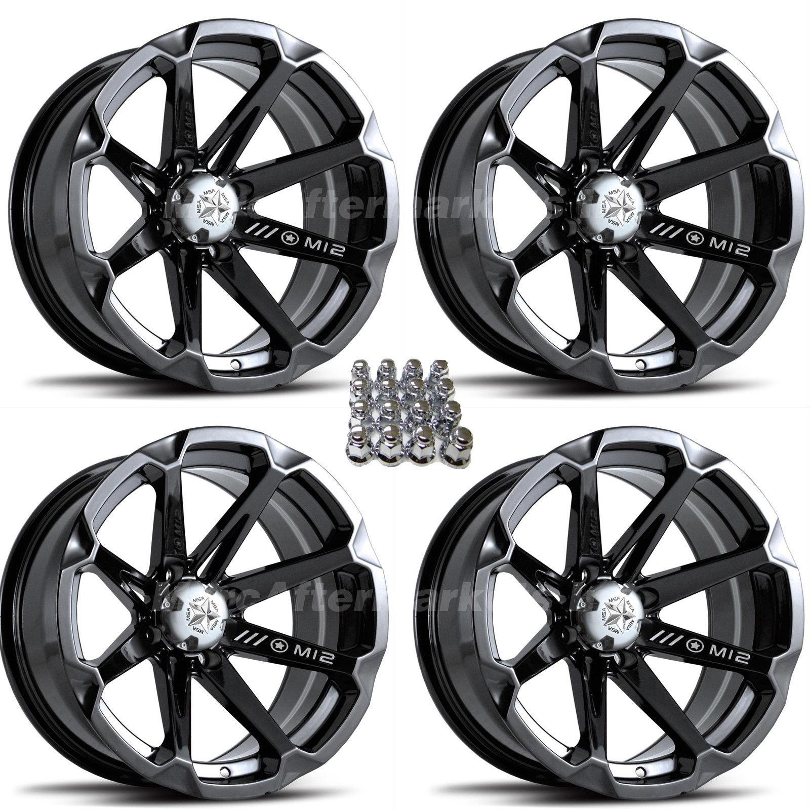 hight resolution of details about msa m12 diesel 14 atv wheels for sportsman xp scrambler 4