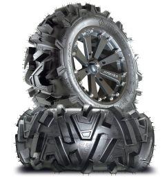 msa m20 kore 16 atv wheels on 30 motomtc tires for sportsman xp scrambler 4  [ 1529 x 1600 Pixel ]