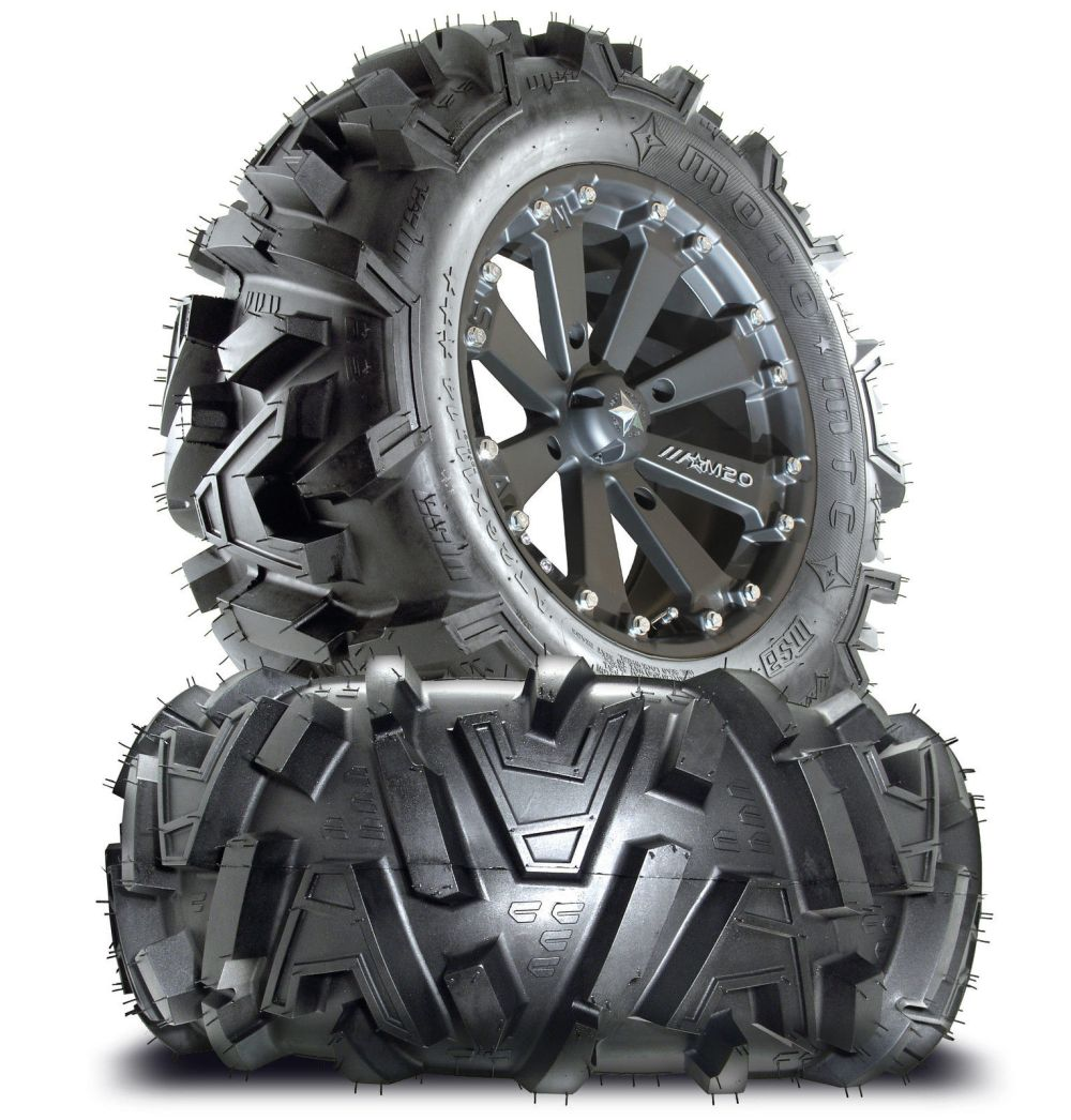 medium resolution of msa m20 kore 16 atv wheels on 30 motomtc tires for sportsman xp scrambler 4