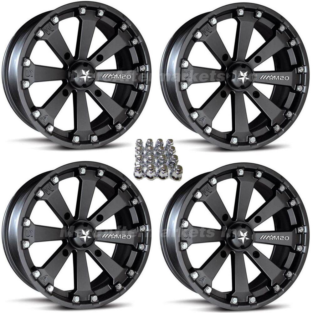 medium resolution of msa m20 kore 14 atv wheels for sportsman xp scrambler 4