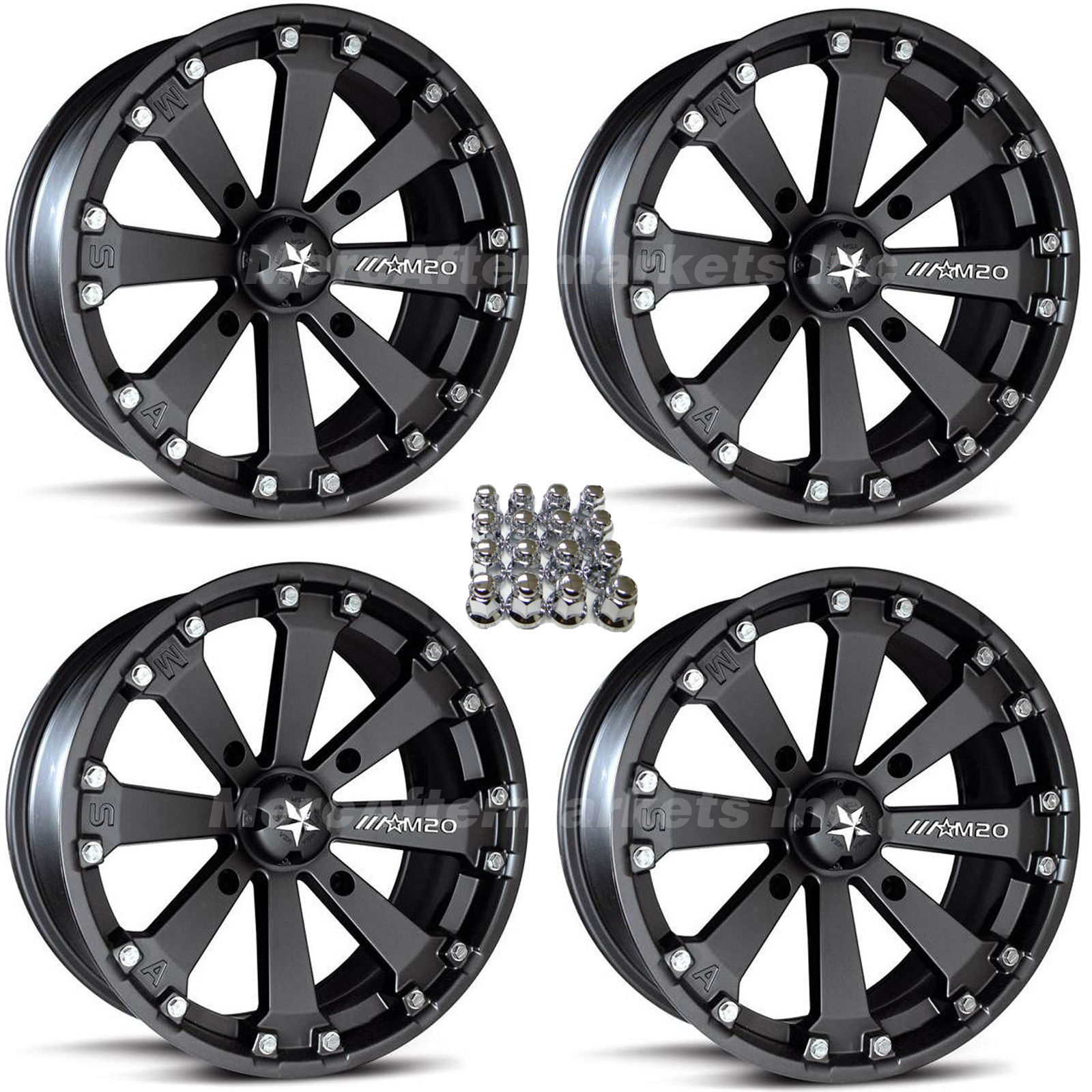 hight resolution of msa m20 kore 14 atv wheels for sportsman xp scrambler 4