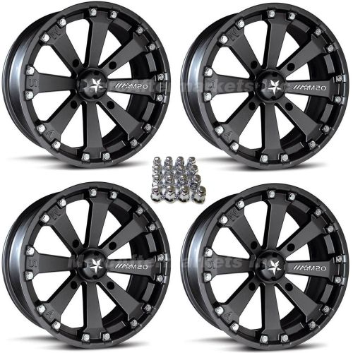 small resolution of msa m20 kore 14 atv wheels for sportsman xp scrambler 4