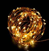 ABN Indoor String Fairy Rice Lights, Dimmable LED String ...