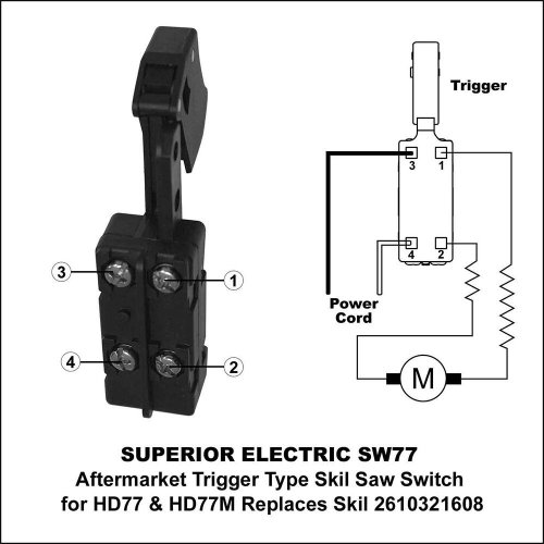 small resolution of agt sw77 superior electric 20 amp trigger on off switch