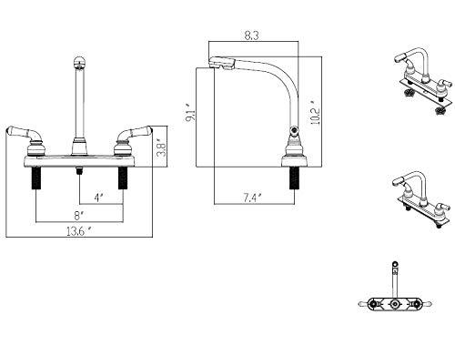 empire faucets8 rv marine kitchen
