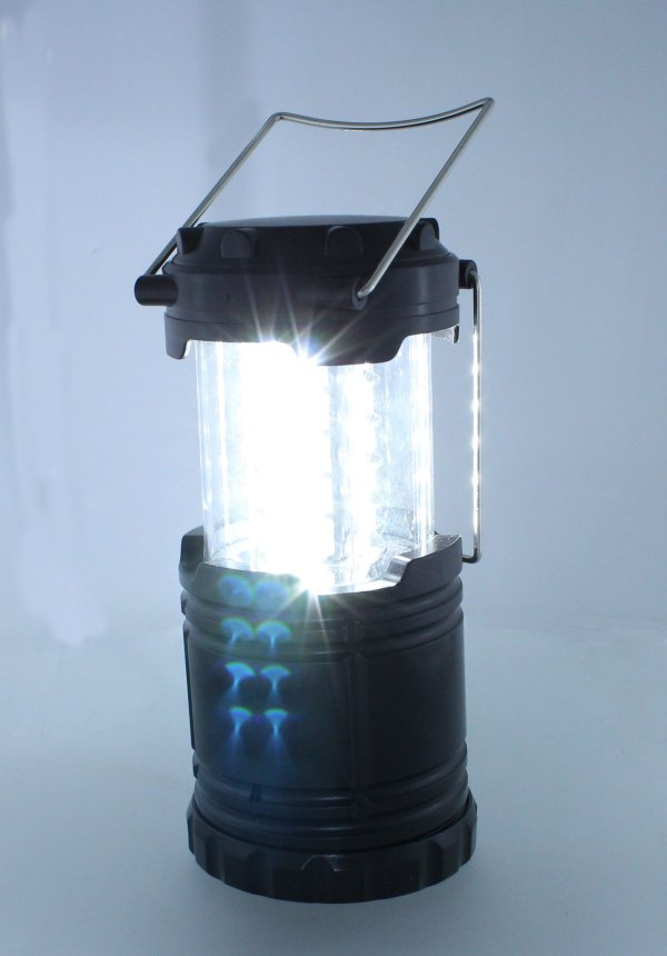 Portable Battery Powered LED Camping Lantern