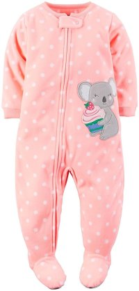 Carter's Baby Girls' 1-Piece Footed Fleece Pajamas Pj's   eBay
