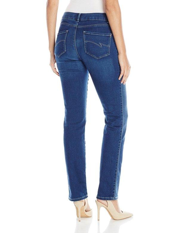 Lee Women Modern Series Curvy Fit 3407 Straight Leg Jean
