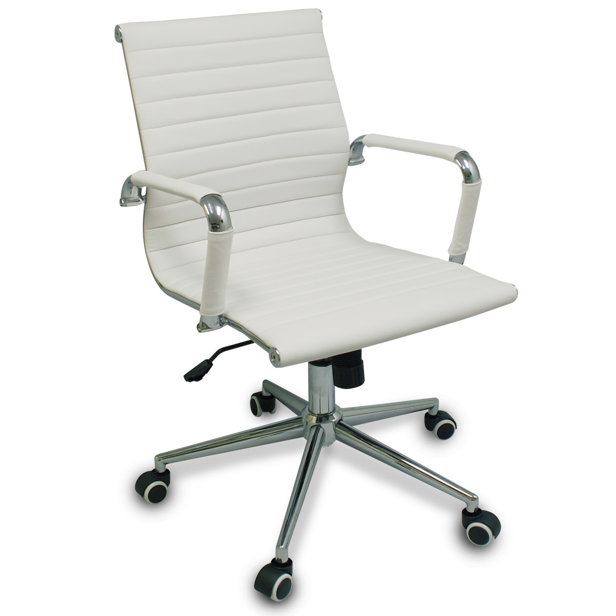 chair casters for hardwood floors eio push new white modern ribbed office with specialized