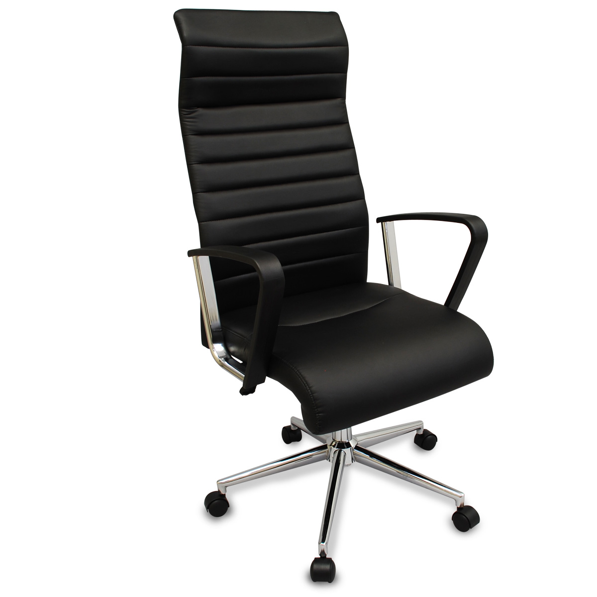 ergonomic chair neck support kneeling chairs new black executive office modern design