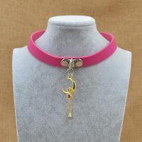 Collar Punk Goth Heart Cross Choker Necklace Ring Harajuku ...