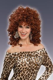 80's wild curl curly hair slash