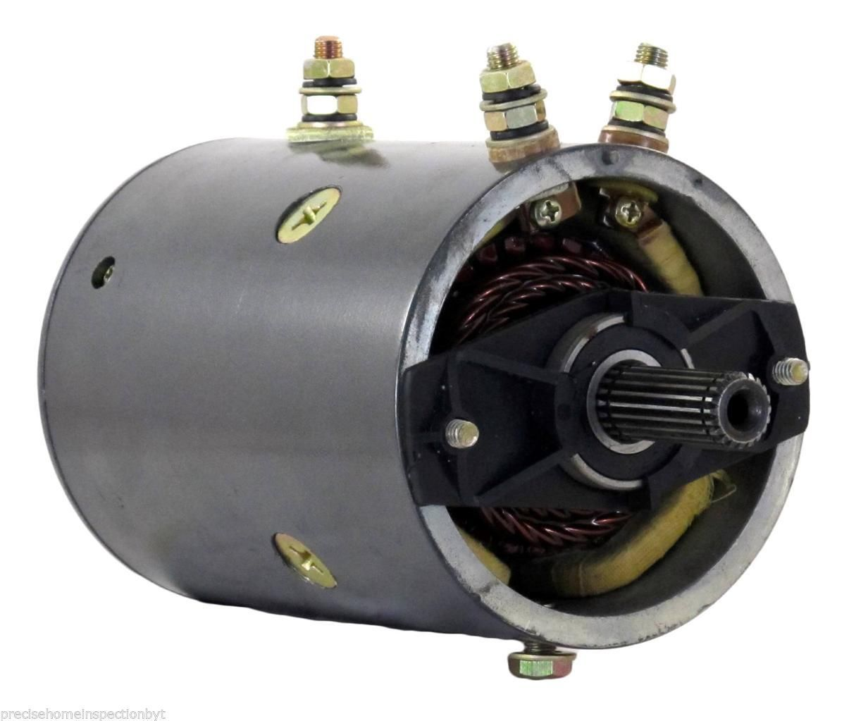 hight resolution of winch motor for warn winch applications 24 volt 20 straight splines