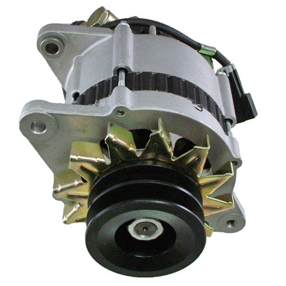 medium resolution of alternator for isuzu npr 3 9 3 9l turbo diesel w vac pump