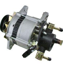 details about alternator for isuzu npr 3 9 3 9l turbo diesel w vac pump [ 1600 x 1600 Pixel ]
