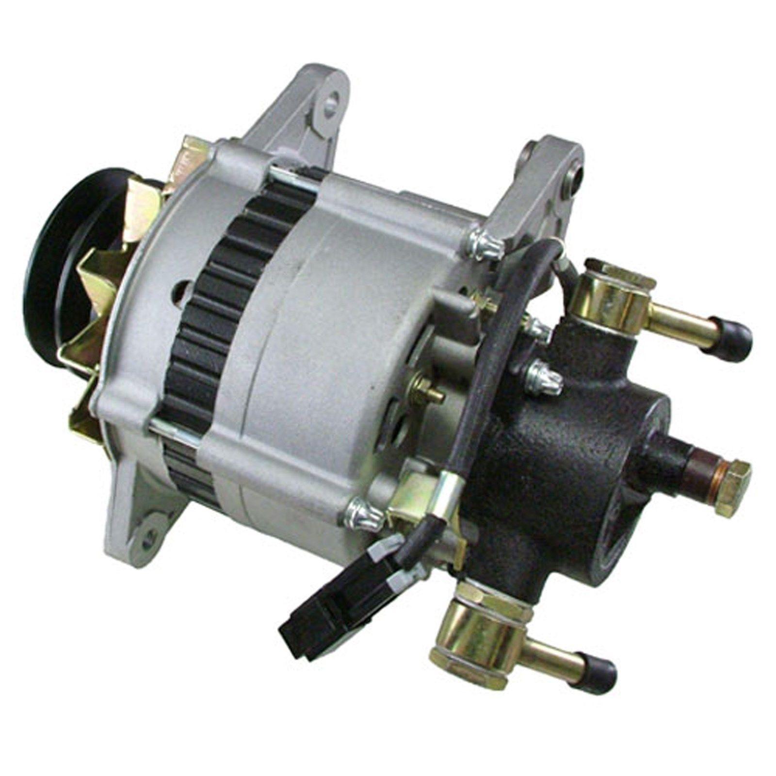 hight resolution of details about alternator for isuzu npr 3 9 3 9l turbo diesel w vac pump