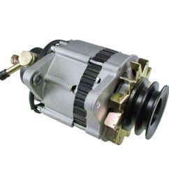 alternator for isuzu npr 3 9 3 9l turbo diesel w vac pump [ 1600 x 1600 Pixel ]