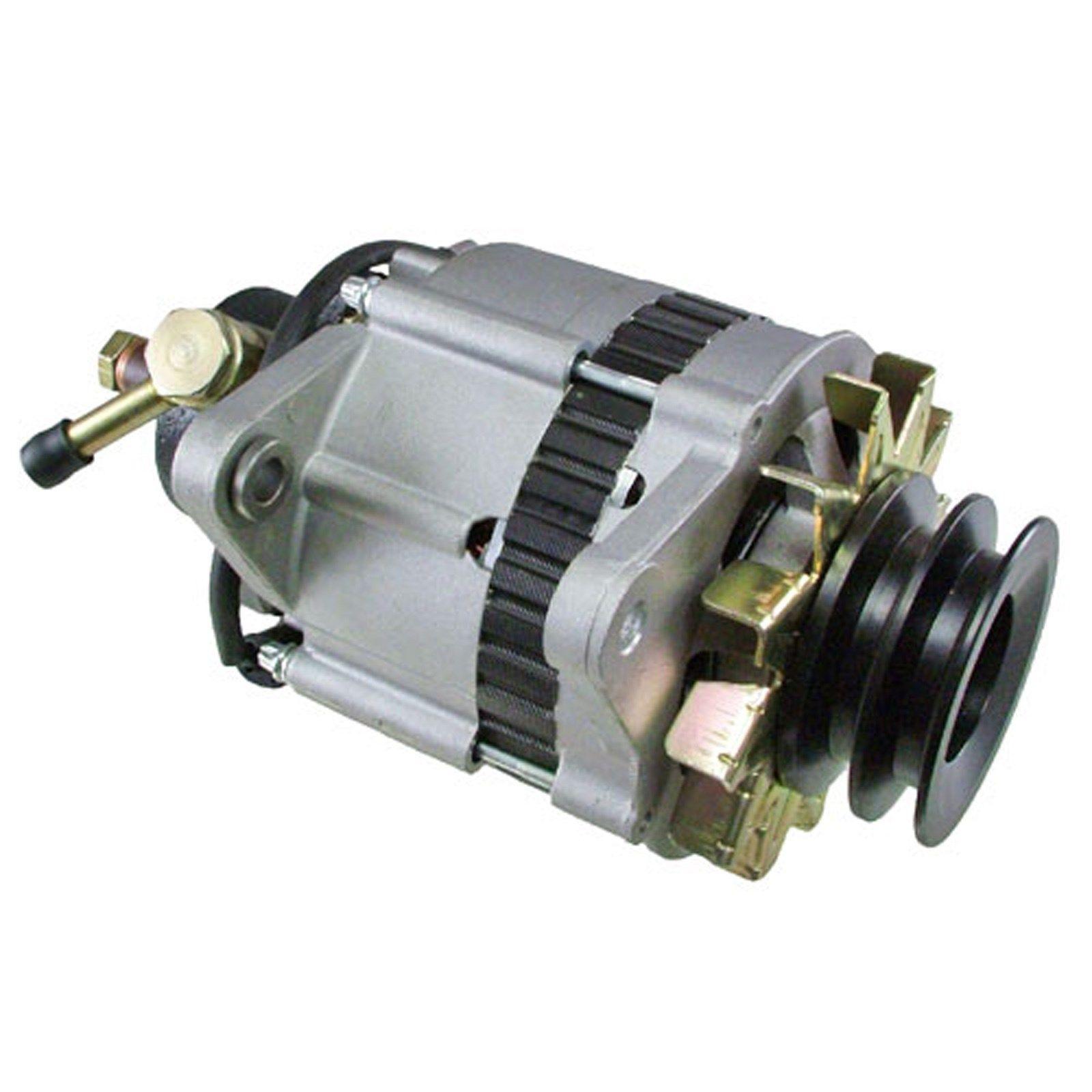 hight resolution of alternator for isuzu npr 3 9 3 9l turbo diesel w vac pump