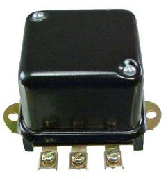 new 12 volt regulator replaces delco remy starter generator 1118981 1118988 [ 1600 x 1600 Pixel ]