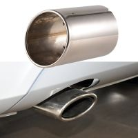 4 inch Car Exhaust Pipe Tip Muffler Vehicle Stainless ...