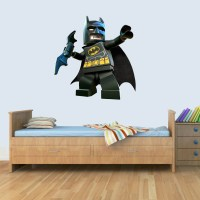 3D Lego Batman Kids Wall Art Sticker Boys Girls Bedroom ...