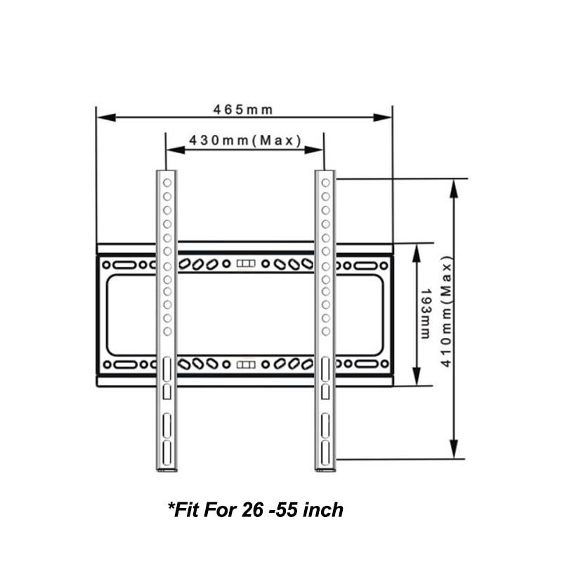 LED LCD Flat Plasma TV wall mount bracket for 26 27 30 32
